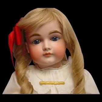 "Rare HTF Antique Kestner 169 Closed Mouth Child Doll 23"" GORGEOUS"