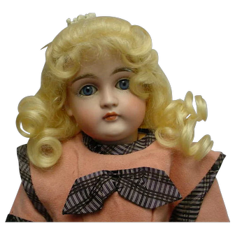 """Rare HTF Antique  Kestner 169 Closed Mouth Child Doll 13"""" BEAUTY"""