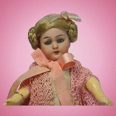"Antique Simon & Halbig 1078 Doll 7"" FABULOUS"