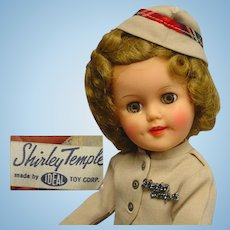 Ideal Shirley Temple ST-15 Doll Minty & HTF Size