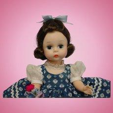 Madame Alexander-kins Brunette BKW Doll ADORABLE