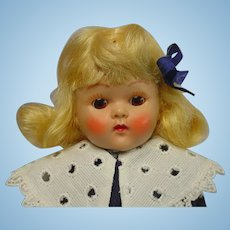Vogue Ginny Strung Blonde Doll 1952 DELIGHTFUL
