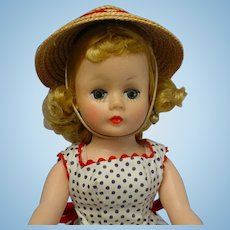 Madame Alexander 1950's Blonde Cissette Doll Tagged OUTFIT