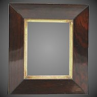 Circa 1820 English Rosewood Picture Frame