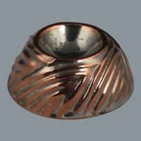 Delightful 19th Century Miniature Figural Bird's Nest Copper Culinary Mould Mold