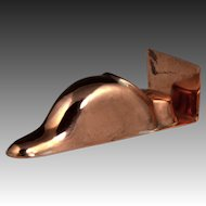 Delightful 19th Century Miniature Figural Duck Copper Culinary Mould Mold