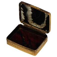Handsome Late 19th Century English Polished Agate Snuff Box