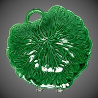 Lovely 19th Century Wedgwood Majolica Leaf Form Tray