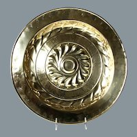 Exceptional 17th/18th Century German Alms Dish