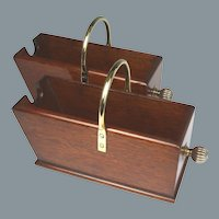 Superb Circa 1840 English Mahogany Wine Carriers and Pourers