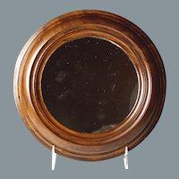 Attractive Circa 1860 Mahogany Framed Mirror