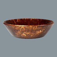 Circa 1860 Treacle Glazed Bennington Bowl