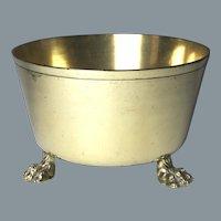Circa 1800 English Brass Kitchen Bowl or Jardiniere