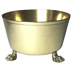 Circa 1800 English Brass Kitchen Bowl or Jardiniere