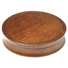Circa 1810 English Rosewood Snuff Box