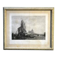 Antique Victorian Age Period Picture Frame