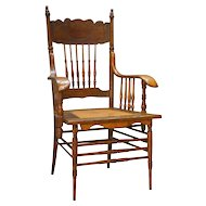 Victorian Press Back Office Desk Chair