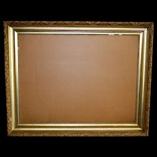 Extra Large Gold Period Picture Frame