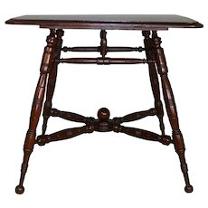 Oversize Parlor Stand Small Dining Table