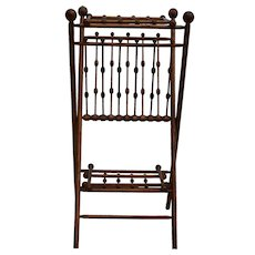Stick and Ball Pie Rack Unusual