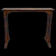 Oak Unusual Music Table - Red Tag Sale Item