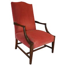 Federal Style Marlboro Arm Chair – Mahogany