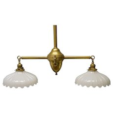Ceiling Double Pendant Shade Lamp