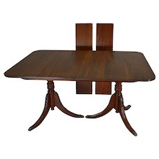 Duncan Phyfe Style Mahogany Line Inlaid Cellarette On Legs Sold