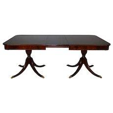Mahogany Duncan Phyfe Dining Table