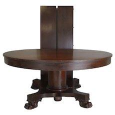 "Mahogany Empire Claw Foot 60"" Banquet Table – 10 Feet"