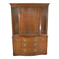 Mahogany Formal Duncan Phyfe China Cabinet