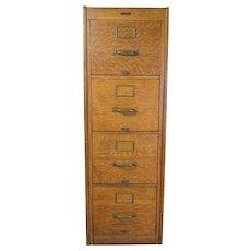 Oak Four Drawer File Cabinet Macy