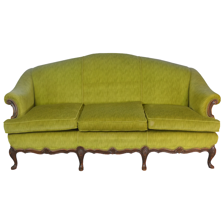 Marvelous French Style Upholstered 1930S Sofa Machost Co Dining Chair Design Ideas Machostcouk