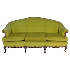 French Style Upholstered 1930's Sofa