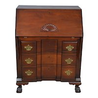 Chippendale Block Front Custom Ball & Claw Centennial Desk