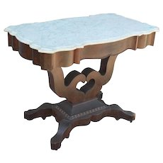 Empire Marble Top Pier Table