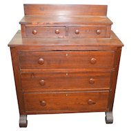 Rare Early Empire Style Miniature Chest