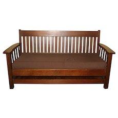 Original Condition Mission Couch Sofa