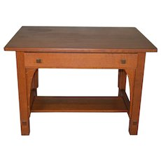 Mission Oak Writing Desk by Limbert