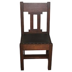 Mission Oak Side Chair