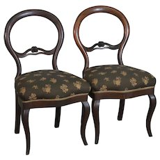 Pair of Victorian Ladies Chairs