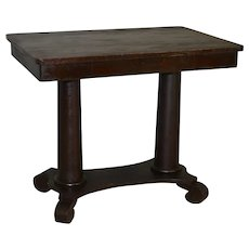 Mahogany Empire Library Writing Desk