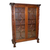 Empire Acanthus Carved Centennial Cabinet