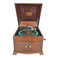 Mahogany Victor Phonograph Model IX