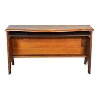 Oak Planters Bench / Flat Screen TV Stand Unusual