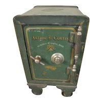 Victorian Cast Iron Safe – End Table Size