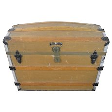 Victorian Dome Top Trunk J.T.P.