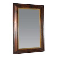 Empire Ogee Mirror with Unusual Gold Liner