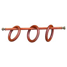 Antique Bentwood Towel Holder