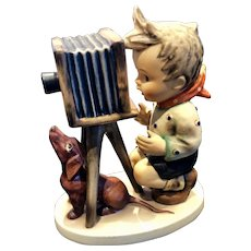 Goebel Hummel Figurine Titled, THE PHOTOGRAPHER,  # 178 TMK3, Mint Condition,
